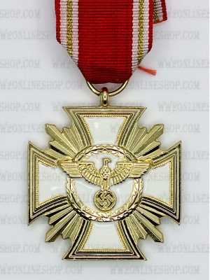Replica of German NSDAP Long Service Award (Twenty-five Year Award) (WWII German Medals) for Sale (by ww2onlineshop.com)