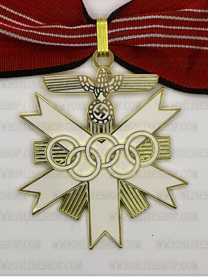 Replica of German Olympic Decoration 1st Class (Party & Sport Badges) for Sale (by ww2onlineshop.com)
