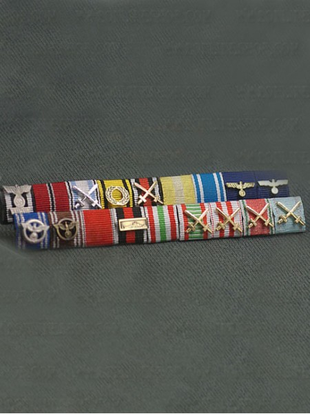 Replica of Custom Made German Ribbon Bars for Sale