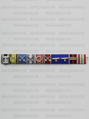 Replica of Field Marshal Erwin Johannes Eugen Rommel s Ribbon Bar (German Ribbon Bars) for Sale (by ww2onlineshop.com)