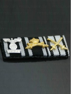 Replica of Field Marshal Fedor von Bock s Ribbon Bar (German Ribbon Bars) for Sale (by ww2onlineshop.com)
