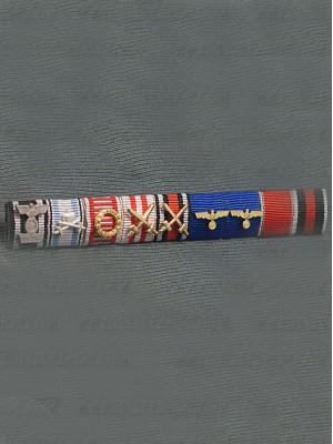 Replica of Field Marshal Ferdinand Schörner s Ribbon Bar (German Ribbon Bars) for Sale (by ww2onlineshop.com)
