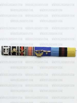 Replica of Field Marshal Karl Rudolf Gerd von Rundstedt s Ribbon Bar (German Ribbon Bars) for Sale (by ww2onlineshop.com)