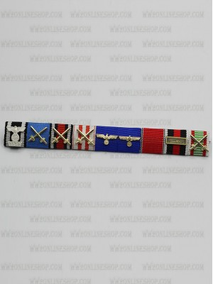 Replica of General Heinz Wilhelm Guderian s Ribbon Bar (German Ribbon Bars) for Sale (by ww2onlineshop.com)
