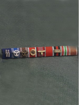 Replica of Heinrich Luitpold Himmler s Ribbon Bar (Late version) (German Ribbon Bars) for Sale (by ww2onlineshop.com)