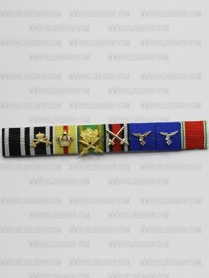 Replica of Hermann Wilhelm Göring s Ribbon Bar (German Ribbon Bars) for Sale (by ww2onlineshop.com)