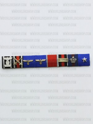 Replica of Lt General Alfred Gause s Ribbon Bar (German Ribbon Bars) for Sale (by ww2onlineshop.com)