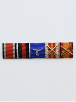 LW Lt General Adolf Galland's Ribbon Bar