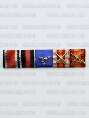 Replica of LW Lt General Adolf Galland s Ribbon Bar (German Ribbon Bars) for Sale (by ww2onlineshop.com)