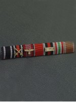 SS General Karl Friedrich Otto Wolff's Ribbon Bar