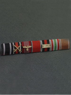 Replica of SS General Karl Friedrich Otto Wolff s Ribbon Bar (German Ribbon Bars) for Sale (by ww2onlineshop.com)