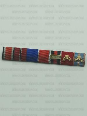 Replica of SS General major Kurt Meyer s Ribbon Bar (German Ribbon Bars) for Sale (by ww2onlineshop.com)