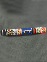 SS Oberstgruppenfuhrer Paul Hausser's Ribbon Bar
