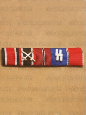 Replica of WW2 German Ribbon Bar#15 (German Ribbon Bars) for Sale (by ww2onlineshop.com)