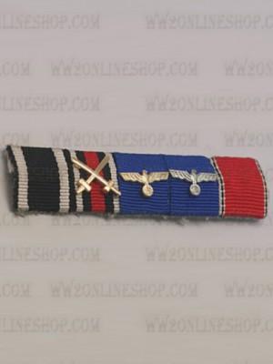 Replica of WW2 German Ribbon Bar#3 (German Ribbon Bars) for Sale (by ww2onlineshop.com)