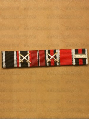 Replica of WW2 German Ribbon Bar#6 (German Ribbon Bars) for Sale (by ww2onlineshop.com)