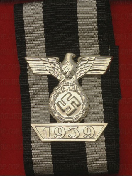 German WWII 1939 Clasp 2nd Class On Ribbon