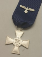 German WWII Heer 18 Year Service Medal