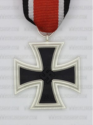 Replica of German WWII Iron Cross (Eisernes Kreuz) 2nd Class (WWII German Medals) for Sale (by ww2onlineshop.com)
