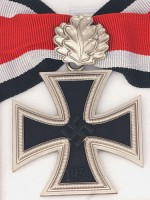 German WWII Knight Cross of the Iron Cross with Oak Leaf