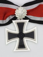 German WWII Knight Cross of the Iron Cross with Oak Leaf (3-piece)