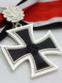 Replica of German WWII Knight Cross of the Iron Cross with Oak Leaf (3-piece) (WWII German Medals) for Sale (by ww2onlineshop.com)