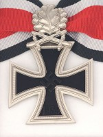 German WWII Knight Cross of the Iron Cross with Oak Leaf and LDO Box