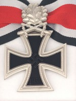 German WWII Knight Cross of the Iron Cross with Oak Leaf & Swords