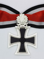 German WWII Knight Cross of the Iron Cross with Oak Leaf & Swords (3-piece)