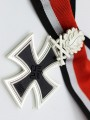 Replica of German WWII Knight Cross of the Iron Cross with Oak Leaf & Swords (3-piece) (WWII German Medals) for Sale (by ww2onlineshop.com)