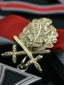 Replica of German WWII Knight s Cross with Golden Oak Leaves, Swords and Diamonds (WWII German Medals) for Sale (by ww2onlineshop.com)