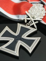 German WWII Knight's Cross with Oak Leaves, Swords and Diamonds
