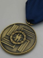 German WWII SS Long Service Award For Eight Years Of Service