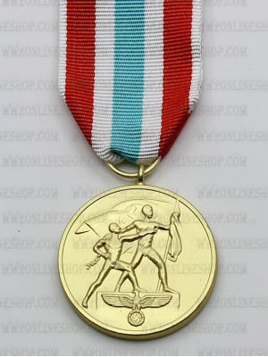 Replica of German WWII The Return of Memel Commemorative Medal (WWII German Medals) for Sale (by ww2onlineshop.com)