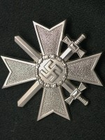 German WWII War Merit Cross 1st Class with Swords