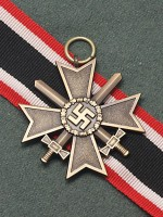 German WWII War Merit Cross 2nd Class with Swords