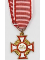 Austrian Military Merit Cross 3rd Class with War Decoration