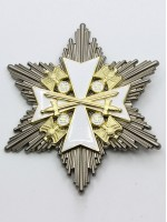 Order of the German Eagle, Star of the Grand Cross with Swords 2nd Class