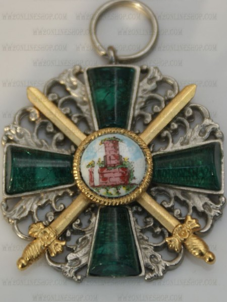 WWII German Baden Order of the Zähringer Lions ribbon bar/'s ribbon