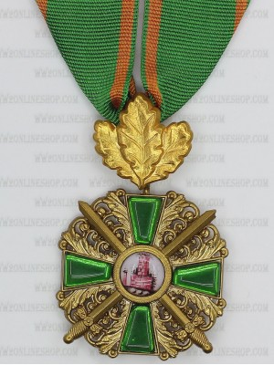 Replica of Order of the Zähringer Lion with Oak Leaf (Knight 1st Class) (WWI Medals & Awards) for Sale (by ww2onlineshop.com)