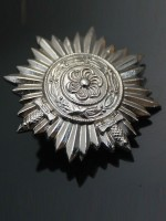 Ostvolk Medal for Bravery on the Eastern Front in Silver with Swords 1ST Class
