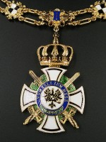 Prussian House Order of Hohenzollern with Necklace