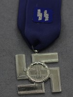 SS Long Service Award (German: SS-Dienstauszeichnungen) (12 Years)