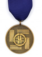 SS Long Service Award (German: SS-Dienstauszeichnungen) (8 Years)