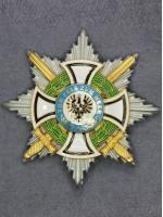 Star of House Order of Hohenzollern Grand Cross