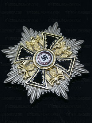 Replica of The German Order (Deutscher Orden) Grand Star (WWII German Medals) for Sale (by ww2onlineshop.com)