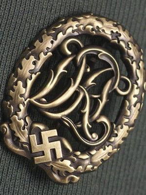 Replica of DRL Sport Badge in Bronze (Party & Sport Badges) for Sale (by ww2onlineshop.com)