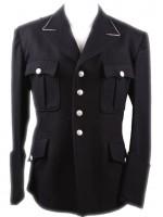 Allgemeine SS Officers M32 Black Wool Tunic