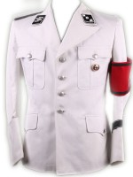 Allgemeine SS Officers M32 White Tunic(Full Uniform)