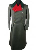 German M36 Officer Field-Grey Gabardine Greatcoat